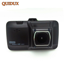 QUIDUX High Definition 1080P Car DVR Camera Novatek 96223 Full HD Video Recorder Parking monitor Registrar Automotive dash Cam(China)