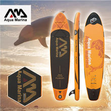 AQUA MARINA 330*75*15cm Inflatable Sup Board Stand Up Paddle Board Inflatable Surfboard(China)
