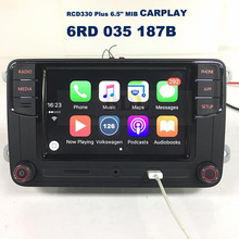 "CarPlay APP RCD330 Plus 6.5"" MIB Car Radio 187B For VW Tiguan Golf 5 6 Jetta MK5 MK6 Passat CC Polo 6RD 035 187B"