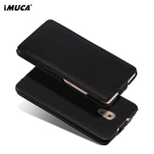 For Meizu Pro6 Pro 6 Case iMUCA Luxury Leather Wallet Phone Bag Cover Flip Case For Meizu Pro 6 Plus Case Protective Skin Shell(China)