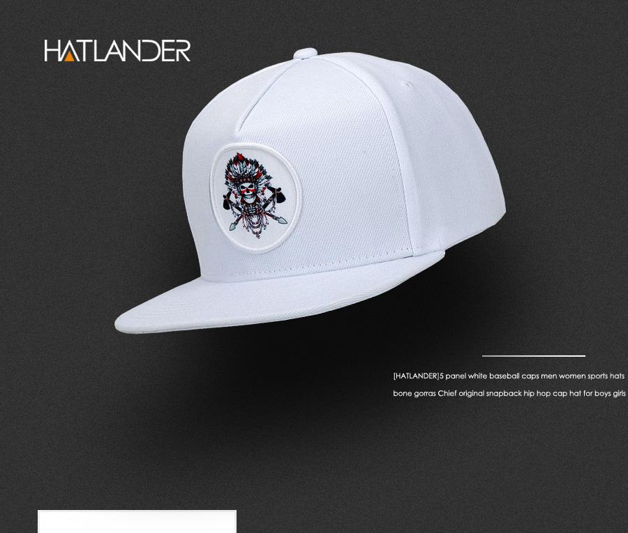 Detail Feedback Questions about  HATLANDER 5 panel white baseball ... 2e9a02b5e64
