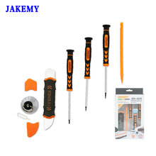 Buy JAKEMY 7 1 Mobile Phone Repair Tools Kit Spudger Pry Opening Tool Screwdriver Set IPhone IPad Samsung Hand Tools Set for $6.99 in AliExpress store