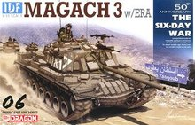 "1/35 scale model Dragon 3578 Israel ""Maggie 3""main battle tank additional reaction armor type(China)"