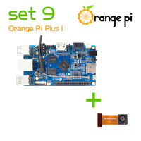 Orange Pi plus set 9 Pi Plus and Camera with wide-angle lens not for raspberry pi 2