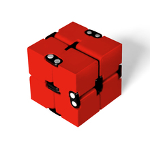 Buy Infinity Cube Fidget Cube Stress Reliever Anxiety Squeeze Fun Magic Cube Toys Adults Kids Antistress Toy Finger Spinners for $3.91 in AliExpress store