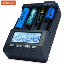 Zeepin BT C3100 V2.2 Smart Universal LCD LI-ion NiCd NiMh AA AAA 10440 14500 16340 17335 17500 18490 17670 18650 Battery Charger(China)
