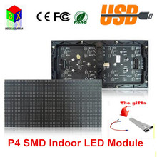 P4 SMD 3in1 Indoor LED Module  256*128mm 64*32 pixel 1/16 scan rgb Led Displays Module for LED Video Wall