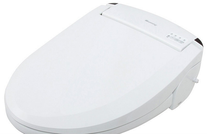 BLOOMING BIDET ELONGATED R1063 REMOTE CONTROL Electric Toilet Seat LED Lite New (2)