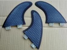 fiberglass FCS G5 surfboard fins/ honeycomb surf fins(China)