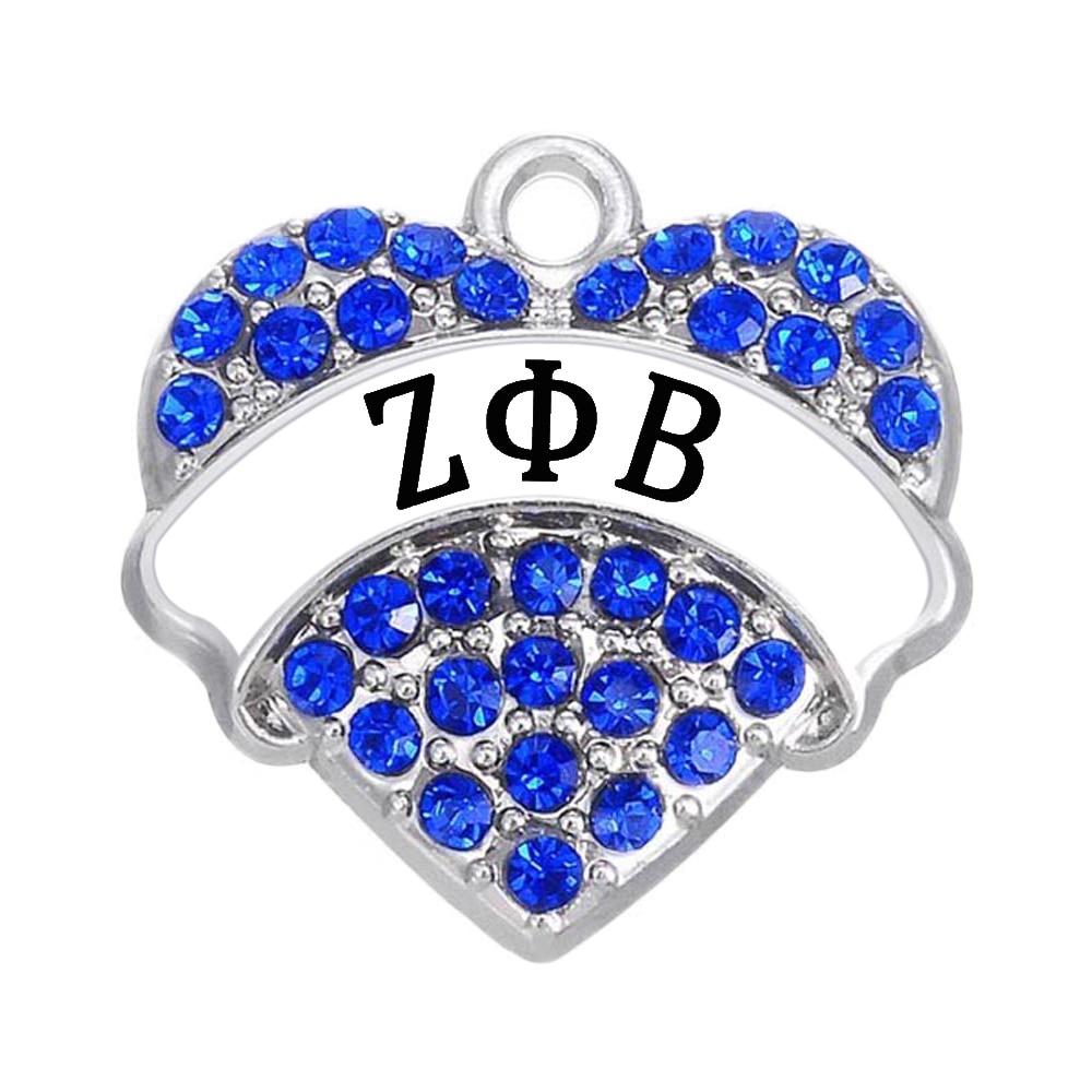 High-Quality-Metal-Rhodium-Rhodium-Crystal-Heart-Charm-Greek-ZETA-PHI-BETA-Tag-Pendant-for-Fraternities (1)