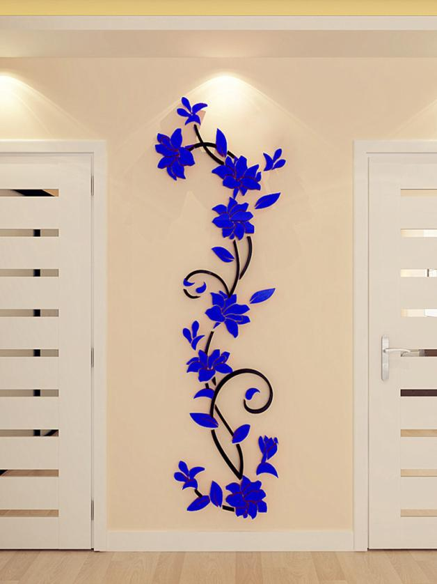 HTB1i5mKQVXXXXcHXFXXq6xXFXXXW - 3D Acrylic Crystal Mirrored Decorative Wall Decal For Living Room