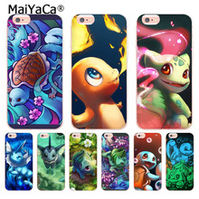 MaiYaCa Charizard Squirtle Vaporeon Pokemons Phone Accessories Case Apple iPhone 8 7 6 6S Plus X 5 5S SE 5C 4 4S Cover