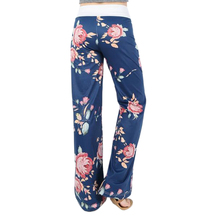 Floral Printed Loose Pants 2017 Women Ladies Wide Leg Pants Stylish Print Loose Casual Pants Trousers Plus Size New Femme GV758(China)