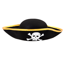 NEW  Unisex Dressing Up White Skull Pattern Pirate Bucket Hat Cap