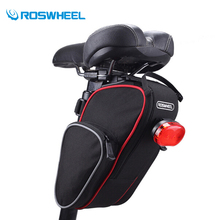 Roswheel Bicycle Saddle Bags Cycling Bag Rear Bike Seatpost Bike Backpack Basket Back Saco alforjas Bolsa Selim Bicicleta 2017(China)