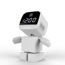 ZB960P Wireless Robot IP Camera Wi-fi WIFI Clock Camera Support 128G Network Night Vision Security CCTV Remote 1.3MP