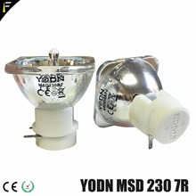 Sample YODN MSD 230w 7R R7 Stage Moving Head Lamp Bulb Replacement MSDR7 230 Sharpy Mercury Lamps