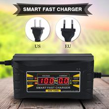 12V 6A Full Automatic Smart Fast Car Battery Charger Power Supply with Display Screen fast power(China)