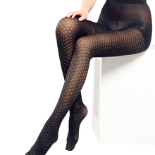Sexy Women's Stockings Pantyhose Female Sexy Stocking Flowers With a Pattern Tights For Girls Transparent 60D Nylon Stockings(China)