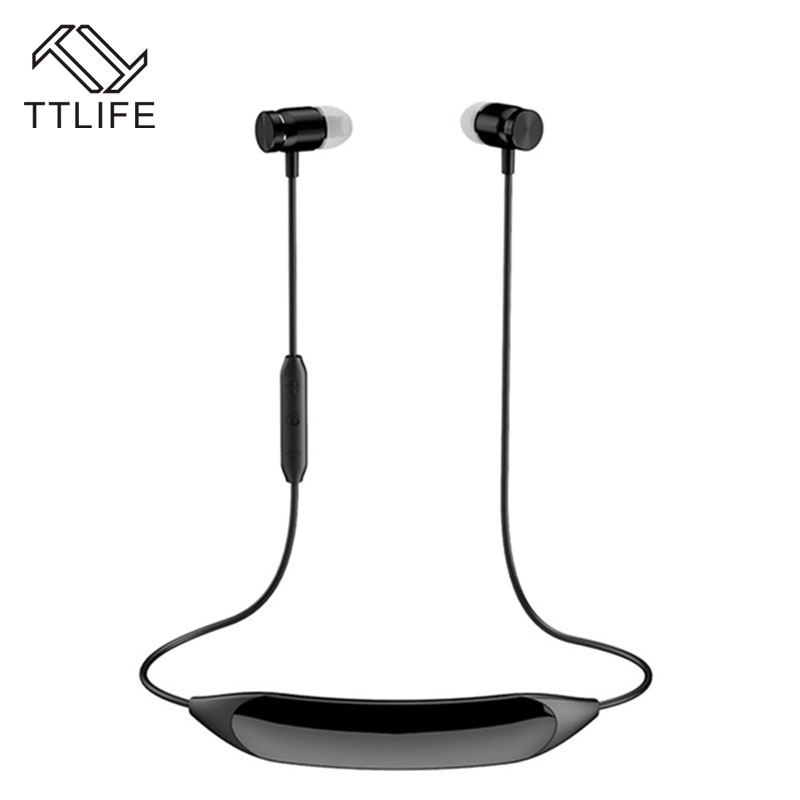 TTLIFE H09 Newest Bluetooth 4.1 Headphone Wireless Sports Sweatproof Stereo Music Earphone with Vibration Massage Function<br>