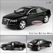 Candice guo! New arrival Kinsmart super cool 1:38 mini AUDI A6 car alloy model car toy 1pc
