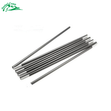 2pcs/set 3.35M or 4.03M Fiberglass Tent Rod Outdoor Camping Tent Pole Spare Replacement Tent Support Poles Tent Accessories(China)