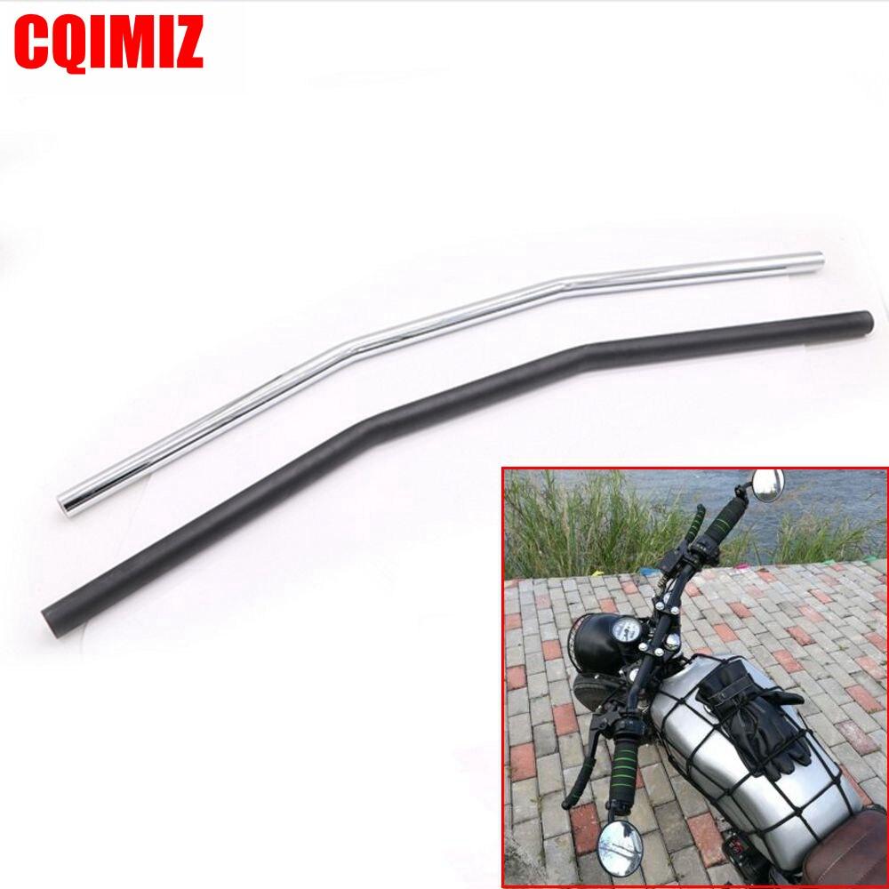 "7//8/""22mm Motorcycle Handlebar Drag Straight Bar For Honda Suzuki Chopper Bobber"