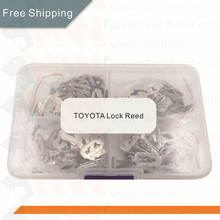 free shipping  200PCS Auto Lock Core Key Repair Accessories Car Lock Reed Lock Plate For Toyota TOY43