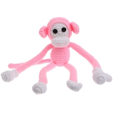 New Newborn Baby Girls Boys Monkey Photography Prop Photo Crochet Knit Toy Cute Gift