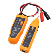 30PCS/lot WH806R Telephone Wire Tracker Network Cable Tester for STP UTP Cat5 CAT6 RJ45 RJ11 Line Finding Sequence Testing(China)