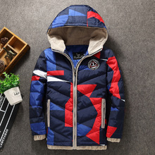 2017 Hooded Winter Children Jackets For Boys Warm Down Coat For boys Clothing Fashion Outwear Winter coat boys Thicken Down Jack