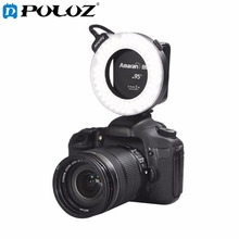 PULUZ AHL-HC100 Higher CRI 95+ Value Amaran Halo LED Ring Flash Light for Canon