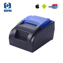 wholesale cheap pos thermal receipt bluetooth android ios printer support multi-language HS-58HUAI 58mm slip printing machine(China)