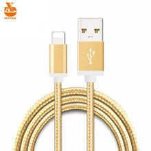 XINNIER 20cm 100cm 1.5m 8pin USB Data Sync Charge Cable For iPhone 5 5S 6 6S Plus iPad 4 mini 2 Air 2 iOS9 Phone Charger Wire