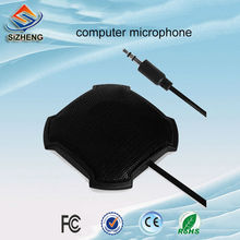 SIZHENG DK30 mini computer PC mic video conferencing QQ Skype voice chat desktop sensitive microphone 3.5mm plug