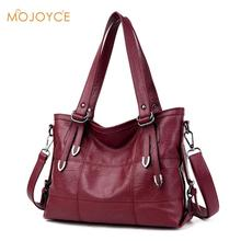 MOJOYCE Large Soft Leather Bag Women Handbags Ladies Crossbody Bags For Women Shoulder Bags Female Big Tote Sac A Main(China)