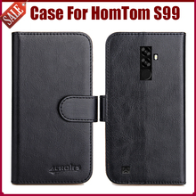 Buy Hot Sale! HomTom S99 Case New Arrival 6 Colors High Flip Leather Protective Phone Cover HomTom S99 Case for $4.59 in AliExpress store