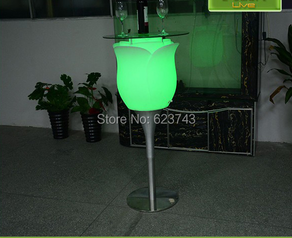LED Big Rose Floor Lamp-slong light (7)