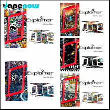 Electronic Cigarette Vapor Box Mod Stickers For SMOK Alien 220w Box Mod Sticker Cover Wrap Skin Decoration Case Sticker