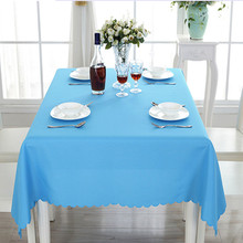 2017 wedding table cloth decoration rectangular polyester tablecloth overlay table cover for wedding event party hotel banquet