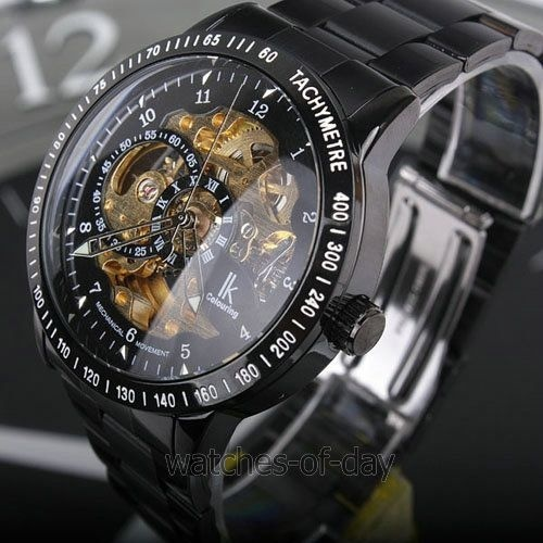 Luxury Stainless Steel Watch Men Business Casual Quartz Watches Military Waterproof Round Hollow Wristwatch For Men Boy Gift  LL<br>