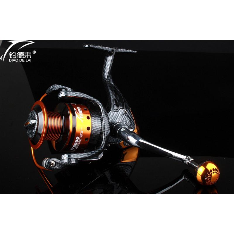 Full Metal Fishing Reel Bait Fishing Reel 12+1 BB Spinning Fishing Reel LeftRight Hand 1000-6000 Series Fishing Accessories (5)