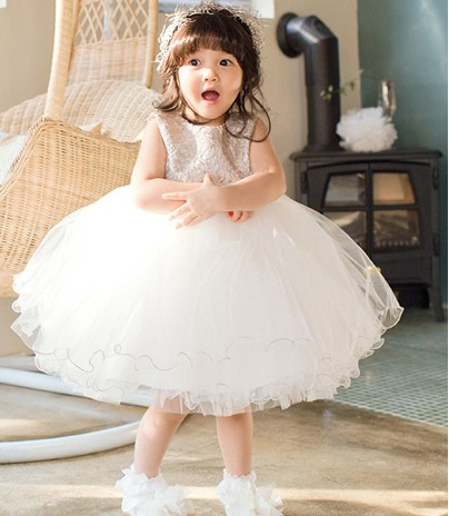 Kids Girls Summer Dress  lace baby girl child Korean princess dress in summer<br>