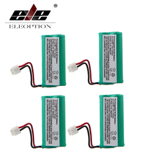 ELEOPTION 4PCS 2.4V 800mah Ni-MH BT-1011 Rechargable Replacement Cordless Home Phone Battery Pack Free Shipping(China)