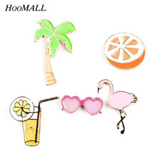 Hoomall Cartoon Kawaii Icons Pins On Badges Brooches Pin Backpack Cloth Decoration Badges For Jeans Bags Clothes