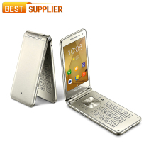 "Unlocked New Samsung Galaxy Folder G1600 (2016) Dual SIM 4G LTE Mobile Phone Quad Core 8.0MP 16GB ROM 2GB RAM 3.8"" Flip Phone(China)"