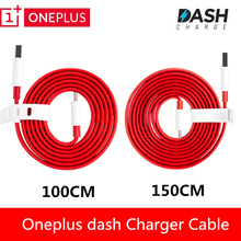 Original ONEPLUS 5 Dash Charger Cable Oneplus 3 3T Red Noodles Fast Charger Cable For One plus Three Five Mobile Phones(China)