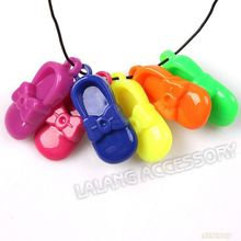 Higher Quality Fashion Colorful Mixed Cute Shoes Shape Acrylic Charms 60pcs/lot  Fit Jewelry DIY 37*16*8mm 145455
