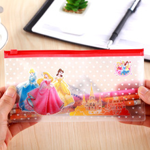 12PCS kids happy birthday party favors girl princess pen bag children party gift baby shower souvenir(China)