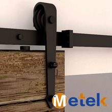 Global Free Shipping 4.9FT/6FT/6.6FT interior hanging barn sliding door hardware